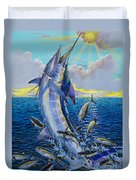 Hit And Miss Off0084 Duvet Cover by Carey Chen