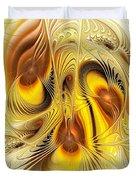 Hive Mind Duvet Cover by Anastasiya Malakhova