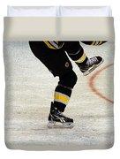 Hockey Dance Duvet Cover by Karol Livote