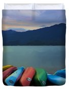 Holding On To Summer Duvet Cover by Heidi Smith