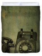 Holding On To Yesterday Duvet Cover by Evelina Kremsdorf