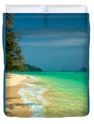 Holiday Destination Duvet Cover by Adrian Evans