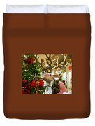 Holiday Reindeer Duvet Cover by Jon Berghoff