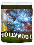 Hollywood 2 - Home Of The Stars By Sharon Cummings Duvet Cover by Sharon Cummings