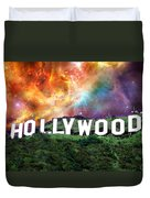 Hollywood - Home Of The Stars By Sharon Cummings Duvet Cover by Sharon Cummings