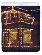Home Holiday Lights 2011 Duvet Cover by Feile Case