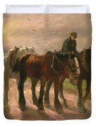 Homeward Duvet Cover by Harry Fidler