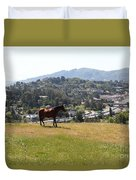 Horse Hill Mill Valley California 5d22662 Duvet Cover by Wingsdomain Art and Photography