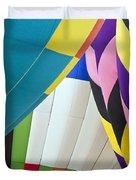 Hot Air Balloon Duvet Cover by Marcia Colelli