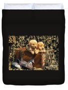 Hunting Buddies - Fs000130 Duvet Cover by Daniel Dempster