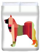 Husky Duvet Cover by Naxart Studio
