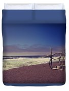 I Feel You Slipping Away Duvet Cover by Laurie Search