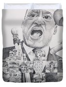 I Have A Dream Martin Luther King Duvet Cover by Joshua Morton