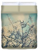 I Hope Spring Will Be Kind Duvet Cover by Laurie Search