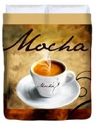 I Like  That Mocha Duvet Cover by Lourry Legarde