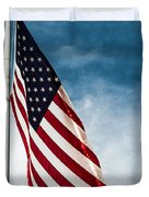 I Pledge Allegiance Duvet Cover by Shelby  Young