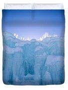 Ice Castle Duvet Cover by Edward Fielding