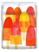 Ice Lollies Duvet Cover by Nic Squirrell