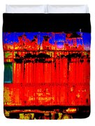 Impressionistic Photo Paint Gs 017 Duvet Cover by Catf