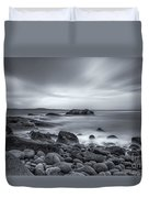 In A Tidal Wave Of Mystery Duvet Cover by Evelina Kremsdorf