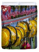 In Memory Of 19 Brave Firefighters  Duvet Cover by Rene Triay Photography