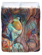In My Minds Eye Duvet Cover by Susan Leggett