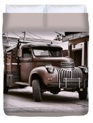 In The Alley Duvet Cover by Ken Smith