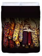 Indian Corn Duvet Cover by Elena Elisseeva