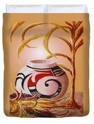 Indian Summer Duvet Cover by Ronald Chambers