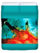 Infinite Color - Abstract Art By Sharon Cummings Duvet Cover by Sharon Cummings