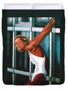 Inge De Bruin 2 Duvet Cover by Paul Meijering