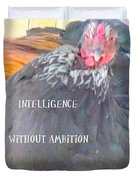 intelligence without Duvet Cover by Hilde Widerberg
