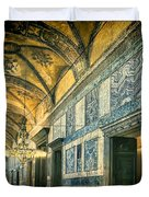 Interior Narthex Duvet Cover by Joan Carroll