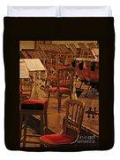 Intermission Duvet Cover by Ann Horn