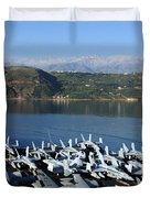 Into Port Duvet Cover by Mountain Dreams