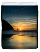 Into The Blue II Duvet Cover by Marco Oliveira