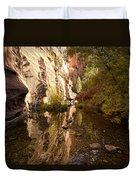 Into The Canyon  Duvet Cover by Saija  Lehtonen