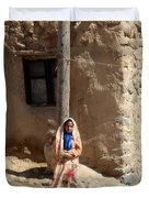 Iran Kandovan Resident Duvet Cover by Lois Ivancin Tavaf