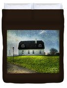 Irish Thatched Roofed Home Duvet Cover by Juli Scalzi