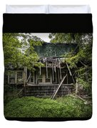 It Was Once Christmas Here Duvet Cover by Gary Heller