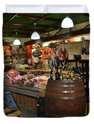 Italian Grocery Duvet Cover by Dany  Lison