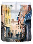 Italian Impressions 3 Duvet Cover by Ryan Radke
