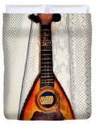 Italian Mandolin Duvet Cover by Bill Cannon