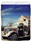 It's All About Love Duvet Cover by Laurie Search
