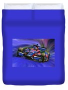 Izod Indycar Series Marco Andretti  Duvet Cover by Blake Richards