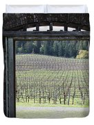 Jack London Ranch Winery Ruins 5D22132 Duvet Cover by Wingsdomain Art and Photography
