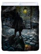 Jack The Ripper Duvet Cover by Alessandro Della Pietra