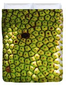 Jacked Up Fruit Duvet Cover by Chuck  Hicks