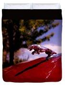 Jaguar Duvet Cover by Rona Black