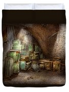 Jail - Eastern State Penitentiary - Cabinet Members  Duvet Cover by Mike Savad